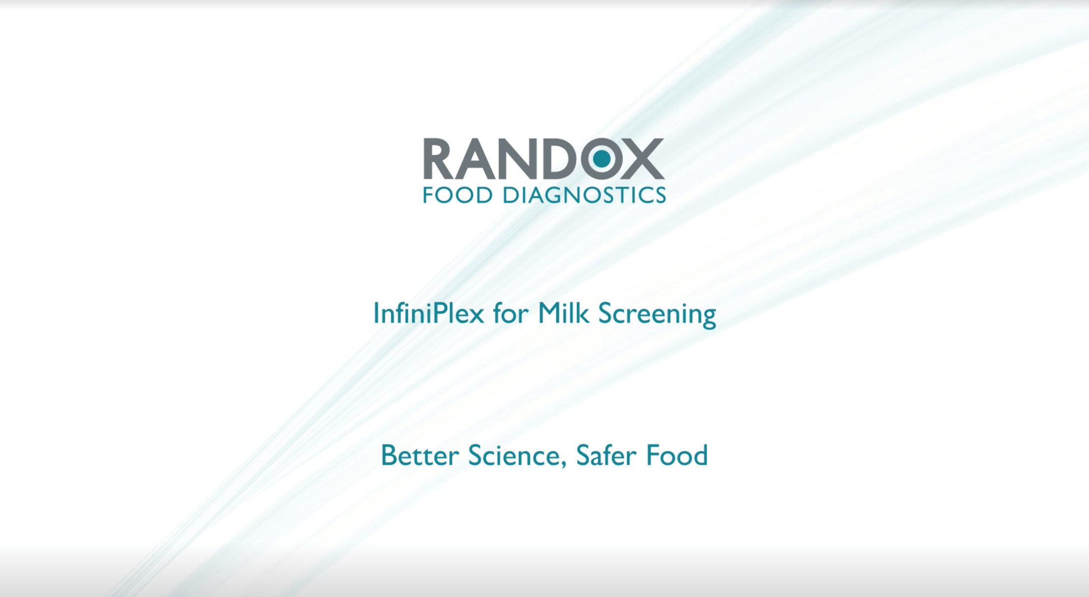 Randox Food Diagnostics -Biochip Array Technology Video